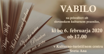 Vabljeni na prireditev ob slovenskem kulturnem prazniku