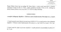 Odredba o omejitvi odlaganja odpadkov v Zbirnem centru Saubermacher Slovenija d.o.o., Lenart