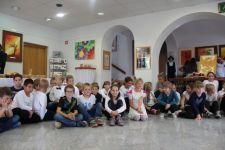 Likovni mozaik otrok OŠ Sv. Ana